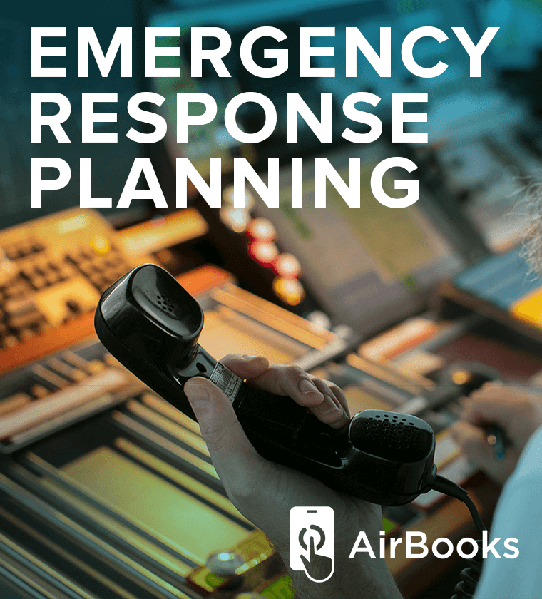 AirBook - Emergency Response Planning