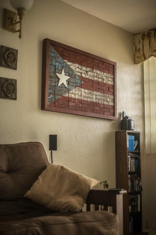 Puerto Rico Flag Art