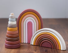 Load image into Gallery viewer, Boho Rainbow Stacker