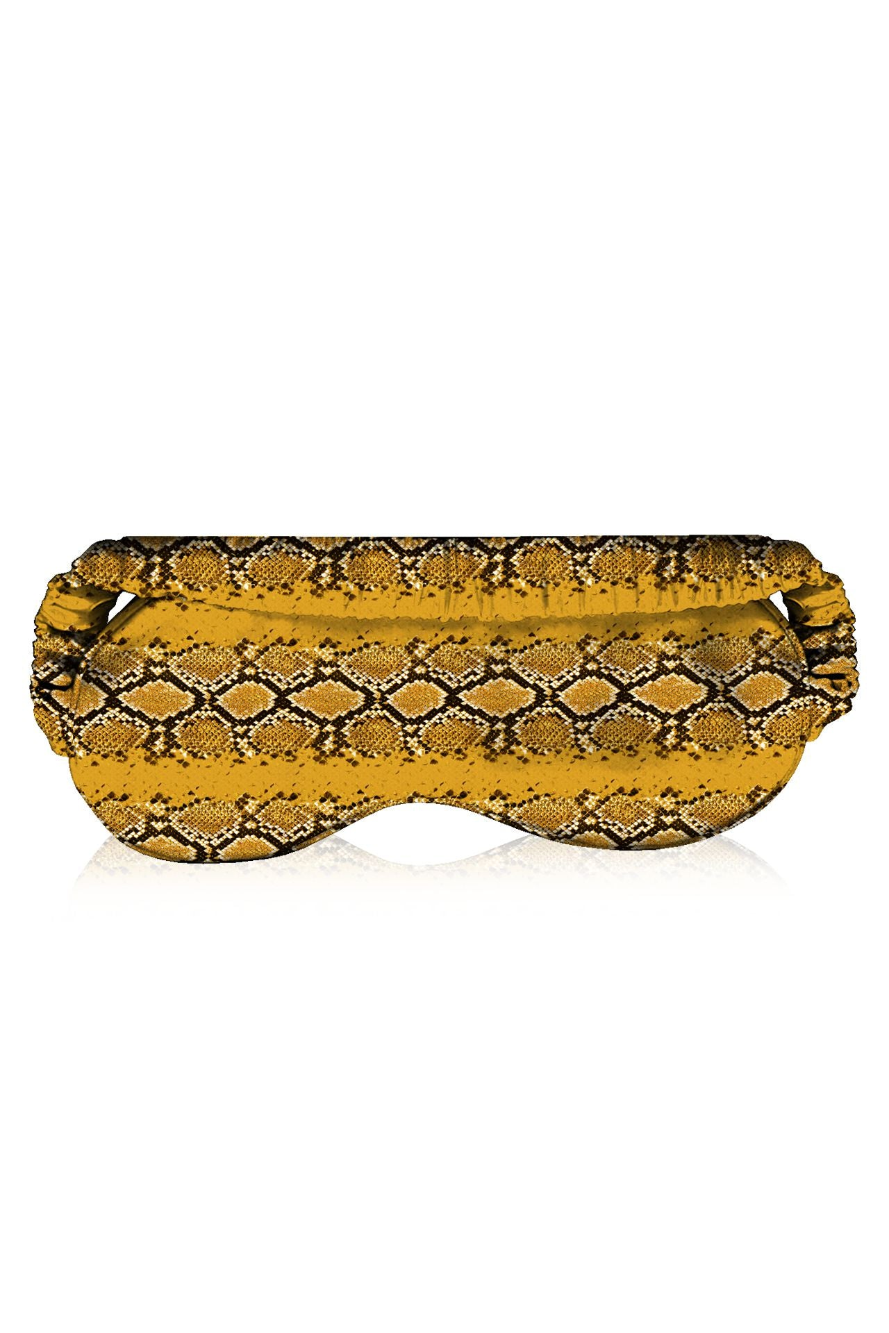 Made with Vegan Silk  Printed Eye Mask