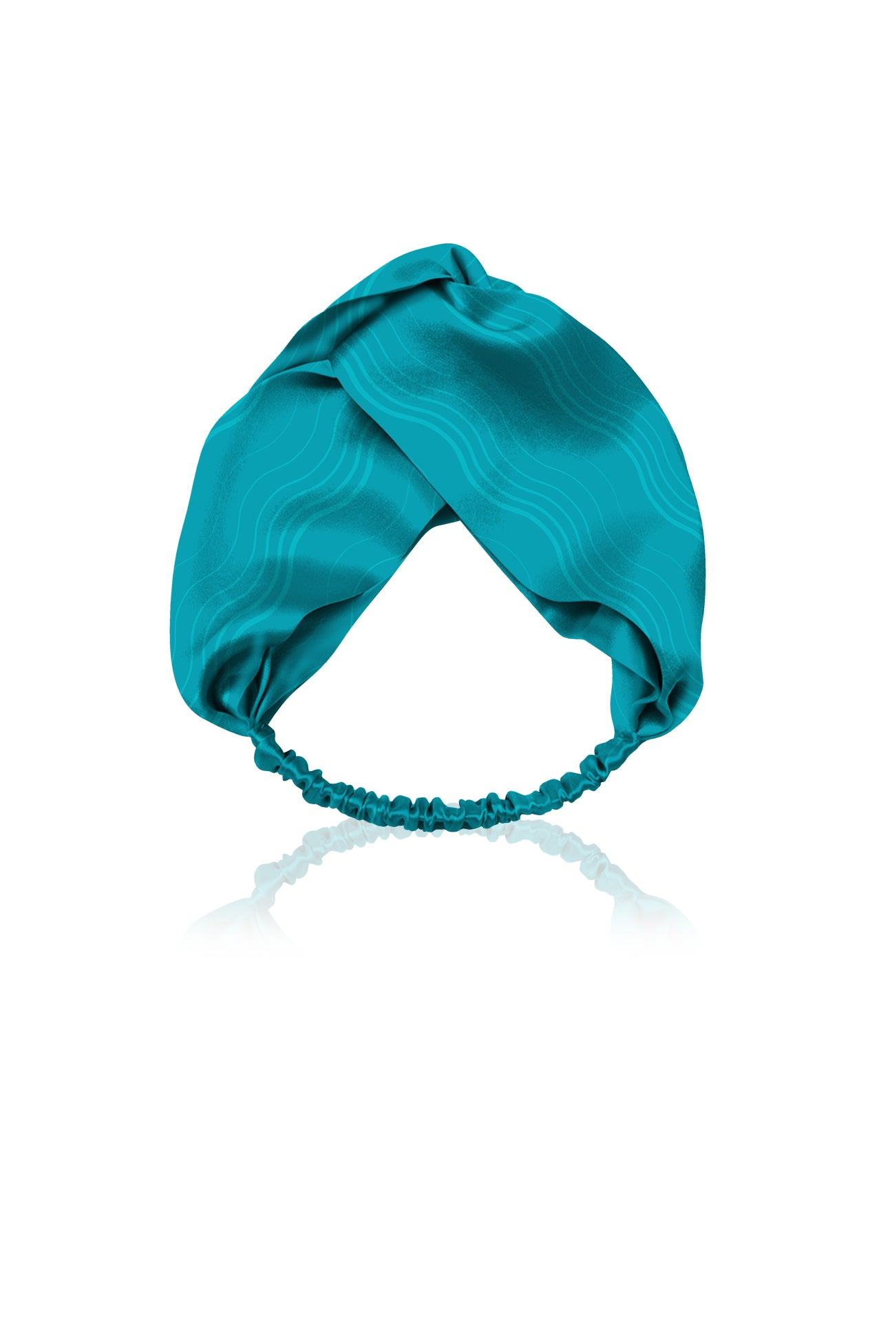Biodegradable Fabrics Headband in Solid Aqua
