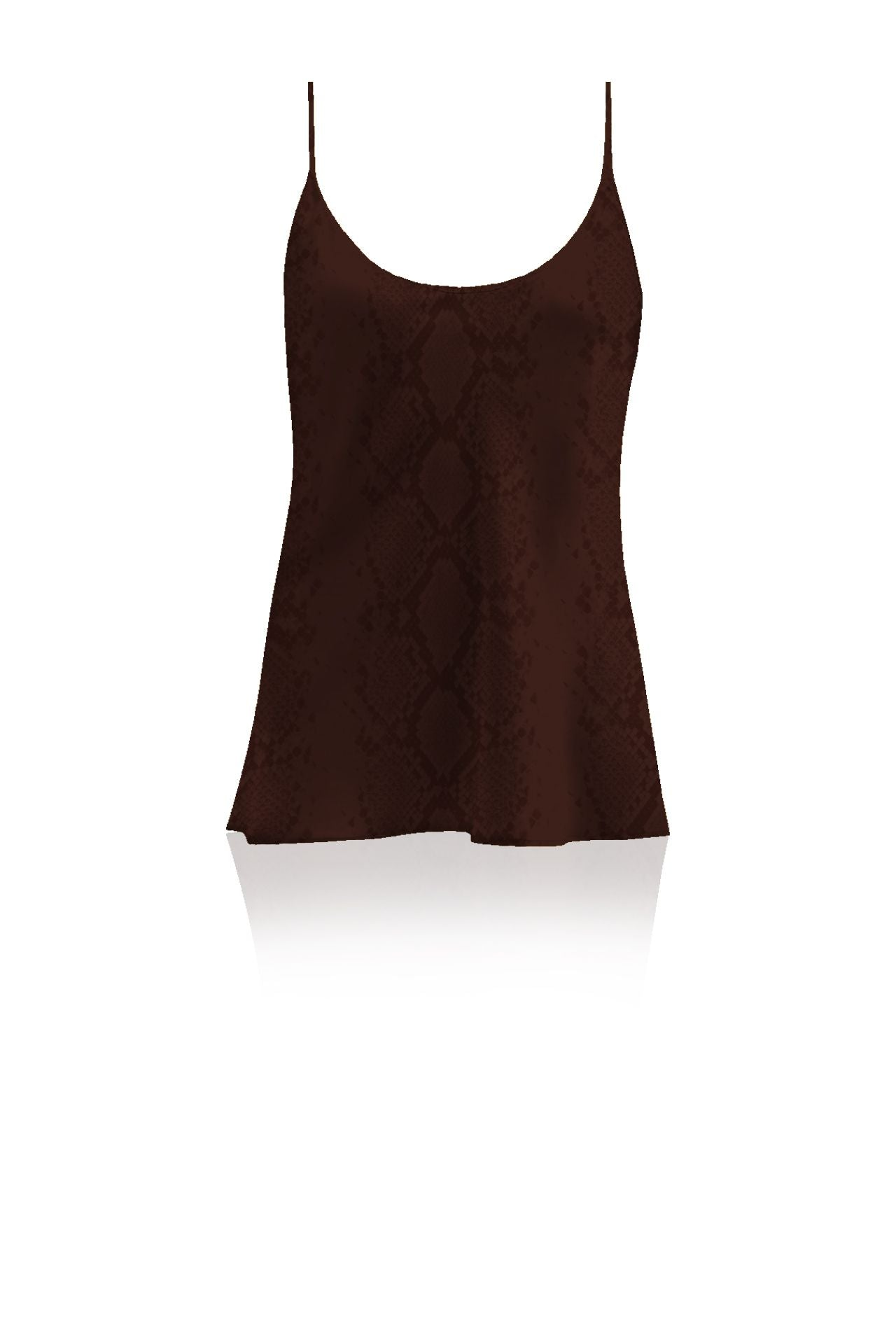 Made with Cupro Silk Camisole Top  in Golden Harvest