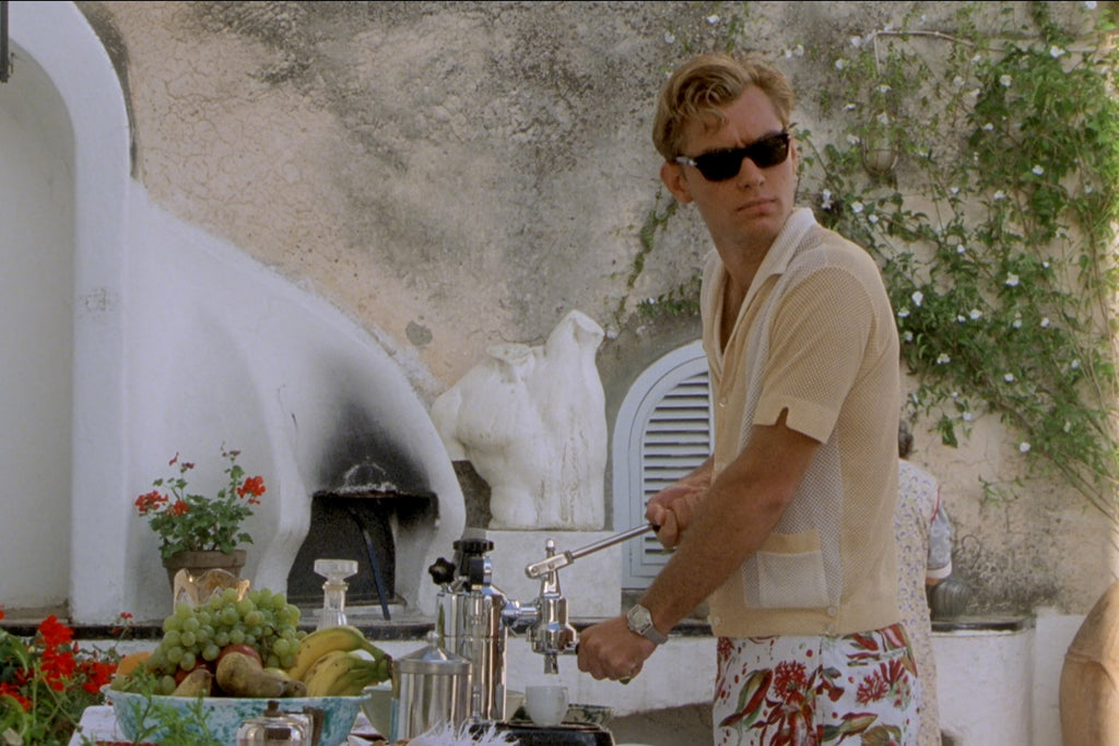 Jude Law as Dickie Greenleaf in The Talented Mr Ripley