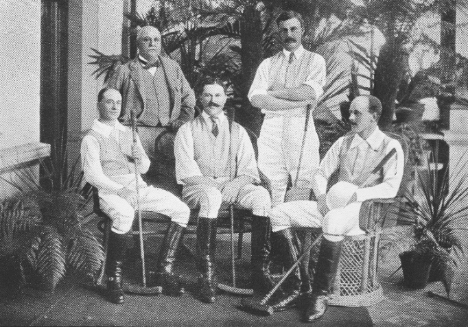 A team of polo players