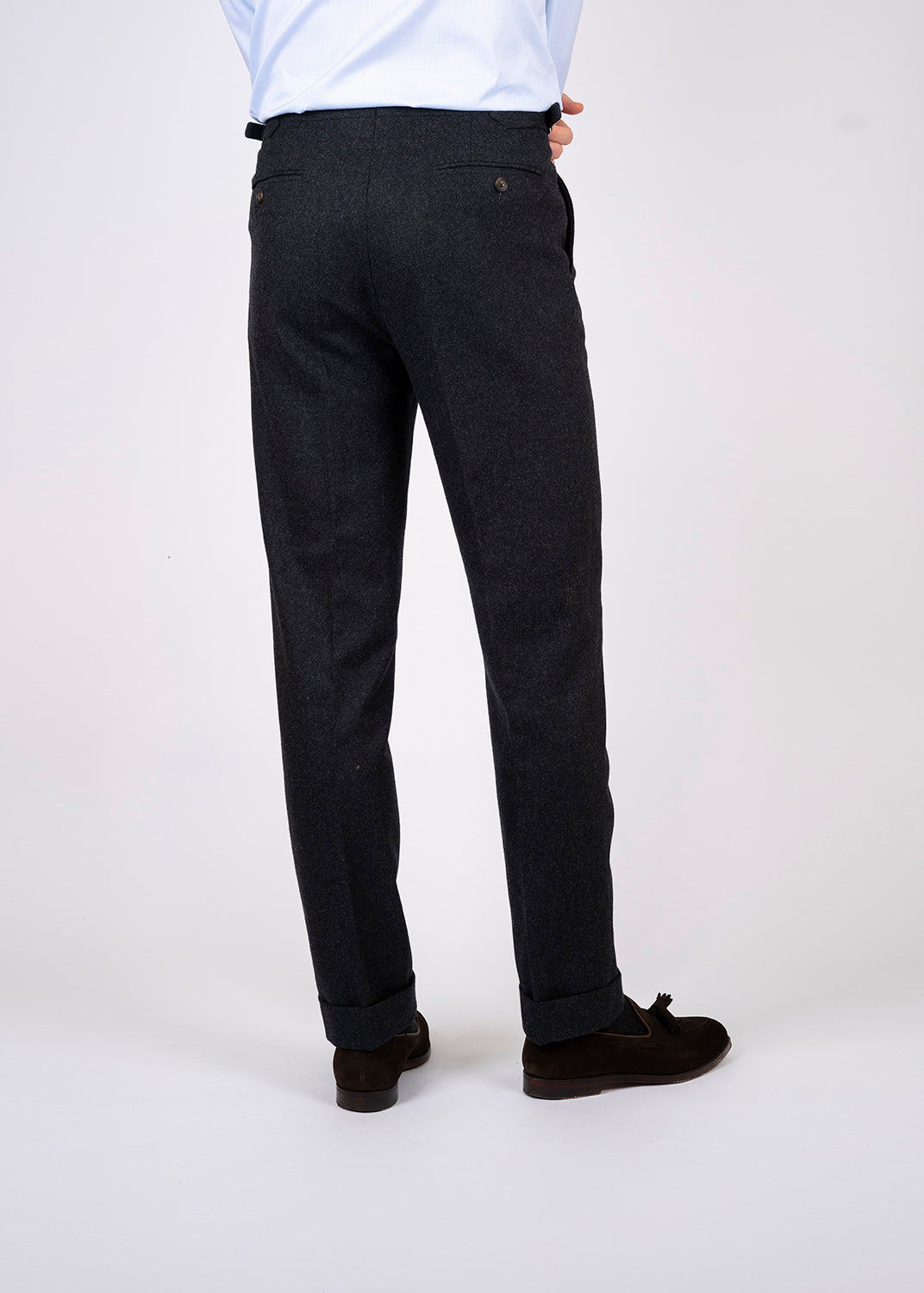 Classic flannel trousers