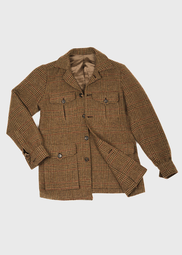 Safari Jacket Prince of Wales Tweed