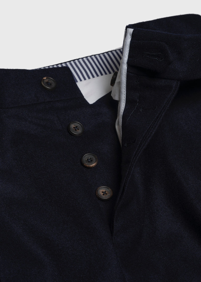 Tailored Trouser Navy Flannel