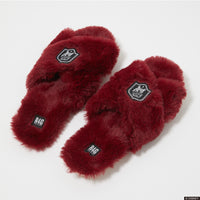 Roomy Fluffy Slippers