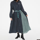 7Dormitories Maxi Shirts Dress