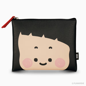 MiM Flat Pouch - Face Edition