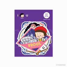 Load image into Gallery viewer, MiM Deco Sticker Pack - Seoul Tour Edition