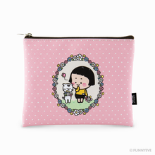 Load image into Gallery viewer, (LIMITED) MiM Flat Pouch - Flower 19 Edition