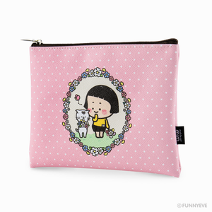 (LIMITED) MiM Flat Pouch - Flower 19 Edition