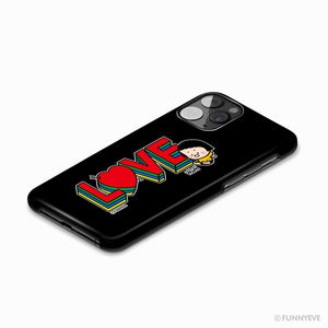 MiM Phone Case – LOVE Edition (Black)