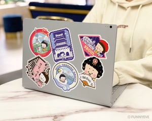 MiM Deco Sticker Pack - Seoul Tour Edition