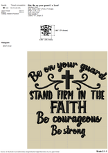 Load image into Gallery viewer, Faith Embroidery Designs, Religious Embroidery Designs , Machine Embroidery Religious Sayings, Spiritual Embroidery Designs, Catholic Embroidery Designs, Psalms Embroidery,Church Mask Embroidery,-Kraftygraphy
