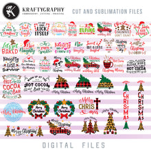 Load image into Gallery viewer, Christmas Movie Quotes SVG, Merry Christmas Clipart, Red Christmas Truck PNG Designs, Christmas Baking SVG, Christmas Dog SVG, Reindeer Antlers SVG, Adult Humor SVG, Signs SVG, Christmas svg-Kraftygraphy