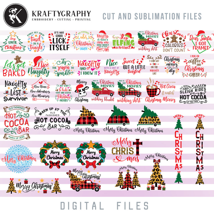 Christmas Movie Quotes SVG, Merry Christmas Clipart, Red Christmas Truck PNG Designs, Christmas Baking SVG, Christmas Dog SVG, Reindeer Antlers SVG, Adult Humor SVG, Signs SVG, Christmas svg-Kraftygraphy