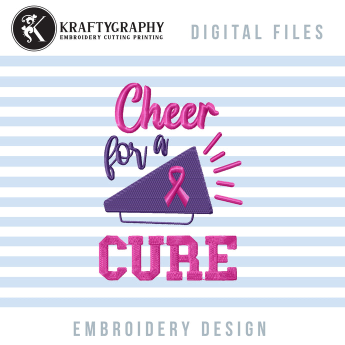 Cheer Embroidery Designs Free, Breast Cancer Embroidery Patterns Free, Cheerleader Embroidery Sayings Free-Kraftygraphy
