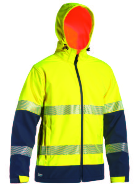 TAPED HI VIS RIPSTOP BONDED FLEECE JACKET