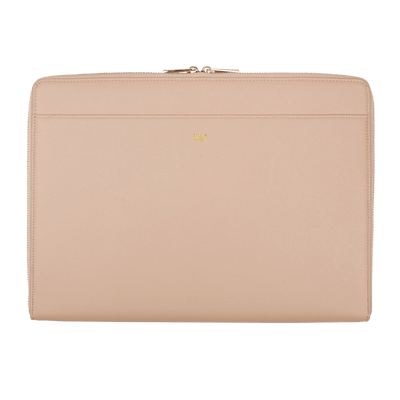 Nude - Saffiano 13'' Laptop Sleeve - THEIMPRINT CO