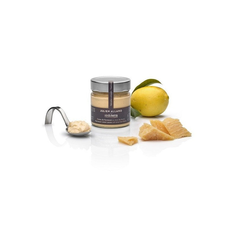 aix&terra parmesan cream with lemon from Menton