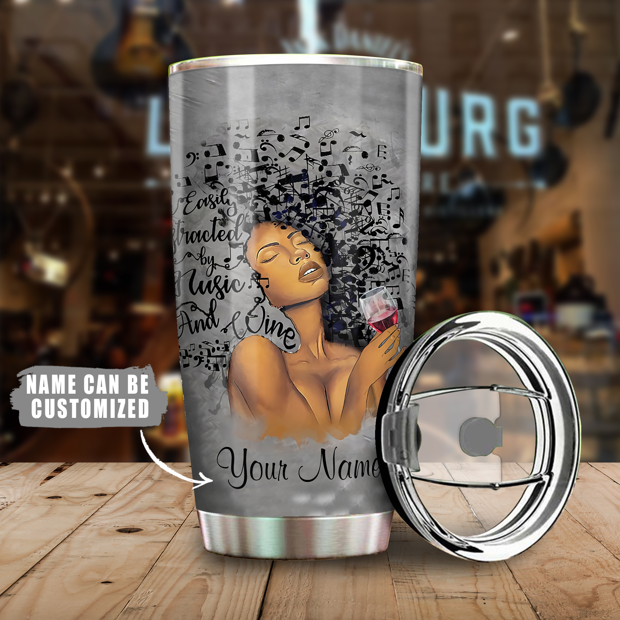 Lose Your Mind Find Your Soul Tumbler Cup All Over Print - luxamz