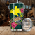 Papua New Guinea Polynesian Green Turtle Hibiscus Tumbler All Over Print - luxamz