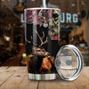 DEER HUNTING IN THE AUTUMN ALL OVER PRINTED TUMBLER