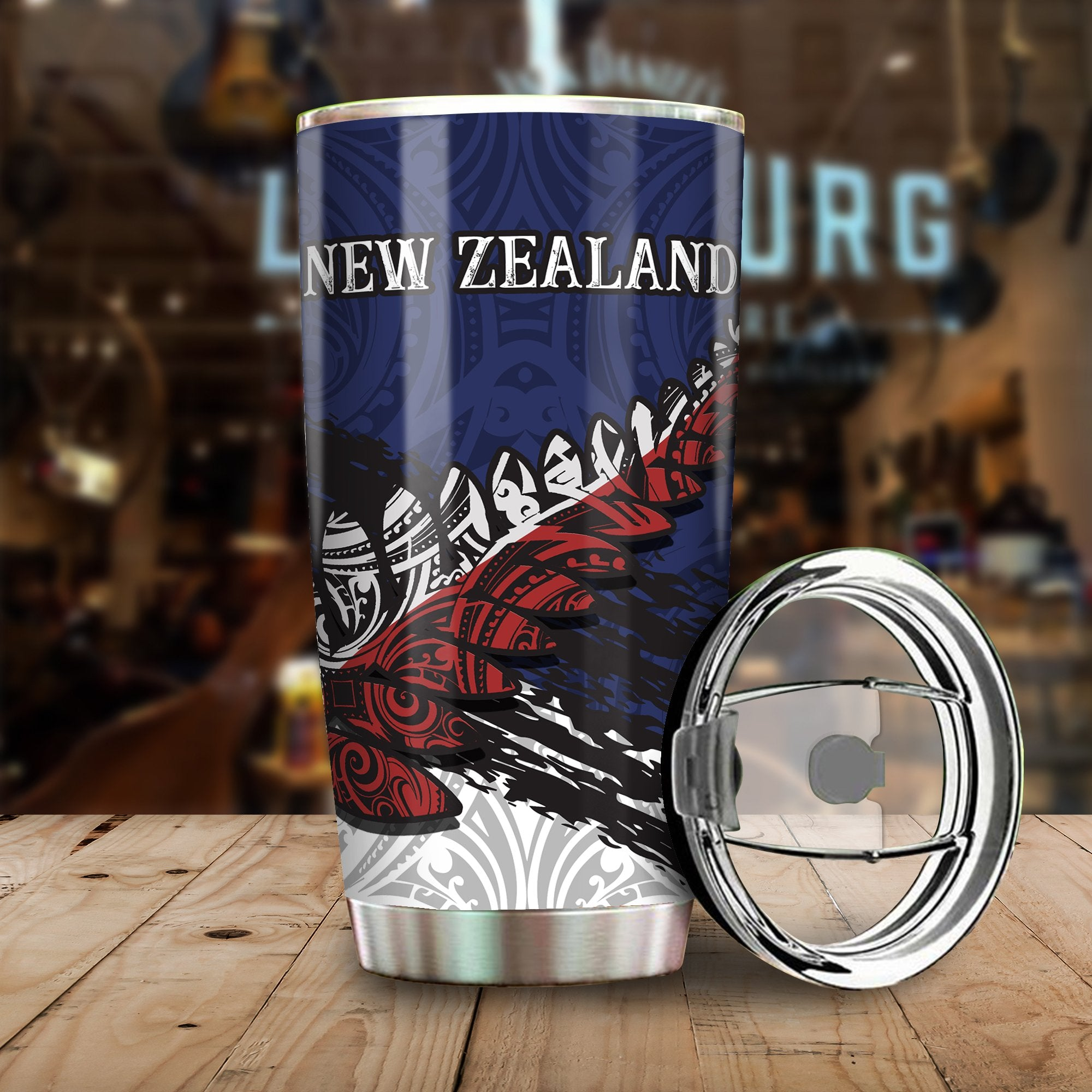 New Zealand Special All Over Print Tumbler - luxamz