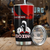 Boxing 3D Custom Name Red and Black Tumbler All Over Print