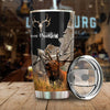 DEER HUNTING ALL OVER PRINTED TUMBLER