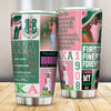 ALpha Kappa Alpha beautiful girl all over print Tumbler