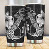 Hawaiian Anchor And Hibiscus Polynesian All Over Print Tumbler - luxamz