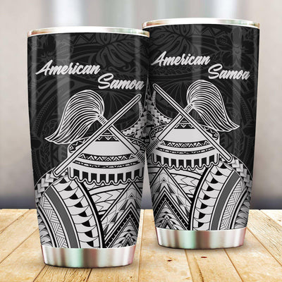 American Samoa - Futiga Polynesian Patterns All Over Print Tumbler