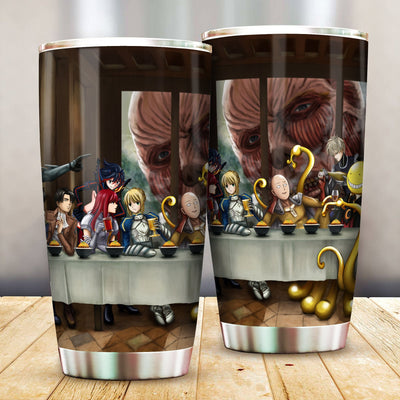The Last Supper Anime All Over Print Tumbler
