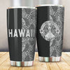 Polynesian Madame Pele Mauna Kea Hawaii The Half White All Over Print Tumbler