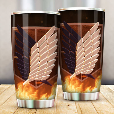 Survey Corps all Over Print Tumbler