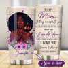 To My Mom Forever And Always Tumbler All Over Print - luxamz