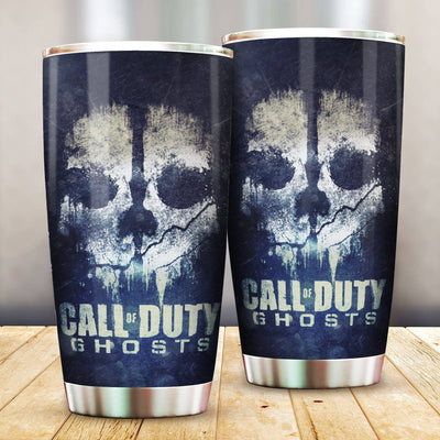 Call Of Duty Ghost all Over Print Tumbler - luxamz