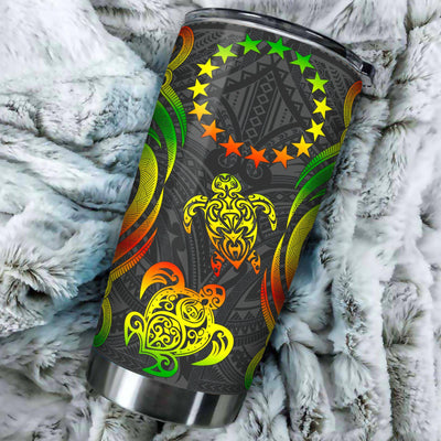 Cook Islands Polynesian Reggae Tentacle All Over Print Tumbler