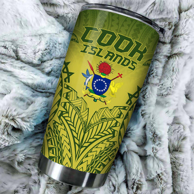 Kuki Arirani Cook Islands Premium All Over Print Tumbler