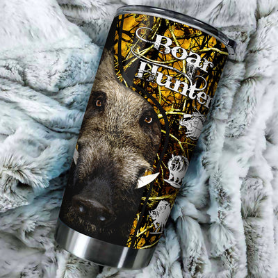 Boar hunting lover hunter All Over Printed Tumbler