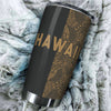 Polynesian Madame Pele Mauna Kea Hawaii The Half Gold All Over Print Tumbler