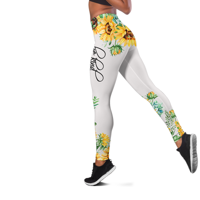 Sunflower Elephant Autism Awareness Hoodie&Legging All Over Print - luxamz