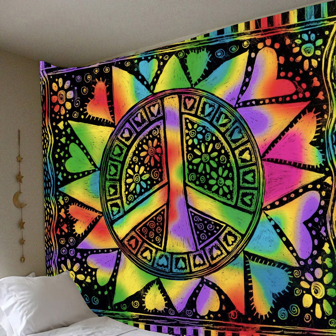 Peace Tapestry - luxamz