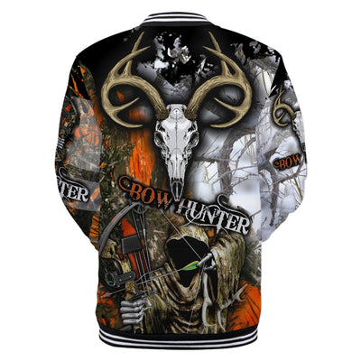 Grim Reaper Bow Hunter lover Camo All Over Printed Shirts For Men And Women - luxamz