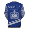 Samoa In My Heart Style Polynesian Patterns Blue Color all over print