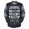 Daddy Viking Dad all over print - luxamz