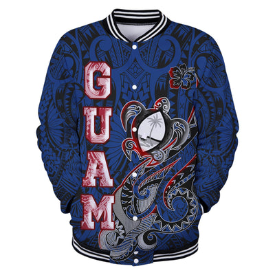Guam Turtle Waving Blue Color All Over Print
